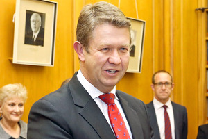 Cunliffe is hell-bent on getting people to start listening to Labour again. Photo / NZ Herald