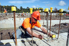 Construction sector productivityhas been persistently sluggish. Photo / APN
