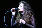 Lorde is just 16 but writes lyrics with worldly wisdom. Photo / Norrie Montgomery