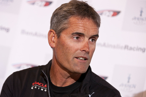 Russell Coutts CEO of Oracle Racing.