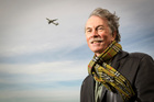 Tony Lambert loves getting on a plane - and away from it all. Photo / Michael Craig