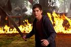 Logan Lerman in 'Percy Jackson Sea of Monsters'.