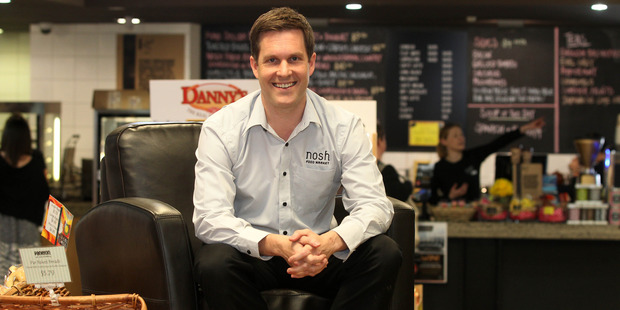 New Nosh chief executive Hayden Syers says cut-price milk had not worked. Photo / Chris Gorman