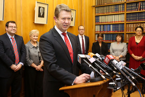 Poll shows David Cunliffe's line-up could be the next Cabinet. Photo / Getty Images