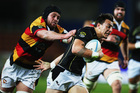 Ambrose Curtis of Wellington makes a break during the ITM Cup match between Waikato and Wellington. Photo / Getty Images