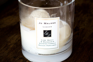Jo Malone candle. Photo / Babiche Martens
