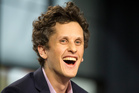 Box's Aaron Levie is compared with Facebook's Mark Zuckerberg.  Photo / AP
