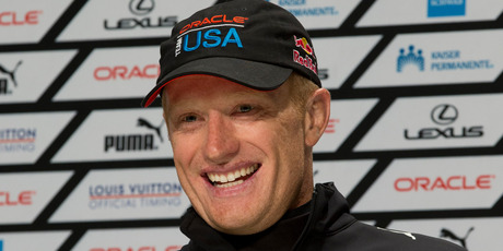 Oracle Team USA skipper Jimmy Spithill.