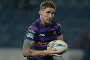 Sam Tomkins faces a huge weight of expectation. Photo / Getty Images