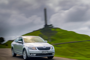 The latest Skoda Octavia has shed 65kg across the board. Pictures / Ted Baghurst