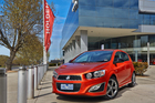 Holden Barina RS. Photo / Supplied