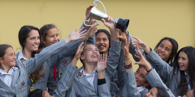 The Rotorua Intermediate School netball team have won back-to-back  titles at the New Zealand Community Trust Aims Games.