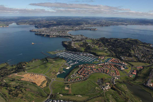 Fairway Bay at Whangaparaoa's Gulf Harbour will eventually add 1000 new houses priced from $595,000 to $850,000.