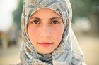 Hind, a 14-year-old in a Lebanese refugee camp, wants only to return home, to war-torn Syria. Photo / Chris Sisarich