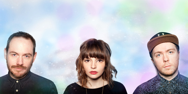 Scottish band Chvrches.