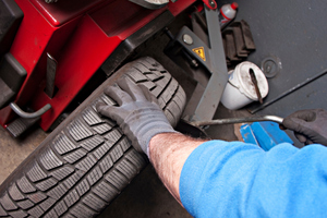 Tyre maintenance can be easily done at a specialist automotive shop.