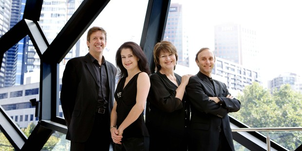 Australia's Goldner String Quartet is on tour around the North Island.