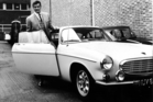 The 1962 Volvo P1800 driven by Roger Moore in The Saint television series.