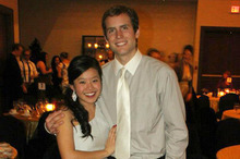 Joanna Lam and Connor Hayes.