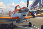 Dusty, voiced by Dane Cook, in a scene from the animated film, Planes.