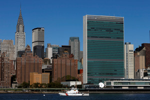 Former US President Bill Clinton will host a reception for leaders at the UN headquarters. Photo / AP