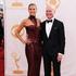Heidi Klum, left, and Tim Gunn arrive at the 65th Primetime Emmy Awards. Photo / AP