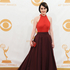 Michelle Dockery arrives at the 65th Primetime Emmy Awards. Photo / AP