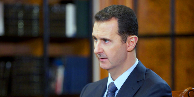 President Bashar al-Assad's regime is likely to put forward a ceasefire proposal soon. Photo / AP