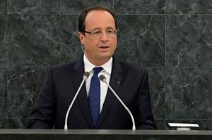 French President François Hollande. Photo / AP
