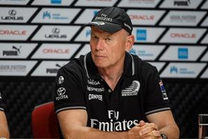 Emirates Team New Zealand boss Grant Dalton. Photo / Abner Kingman
