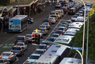 Rush hour in downtown Auckland puts pressure on key routes, but it could be a lot worse. Picture / Brett Phibbs