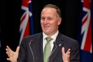 Prime Miister John Key. Photo / Mark Mitchell
