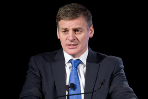 Bill English. Photo / Richard Robinson