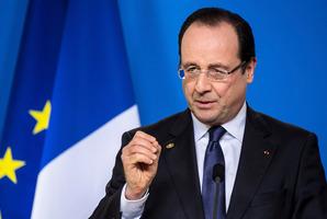 French President Francois Hollande. Photo / AP