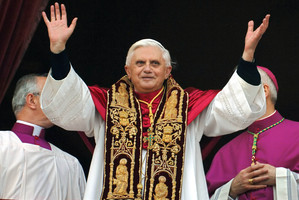 Pope Emeritus Benedict XVI. Photo / AP