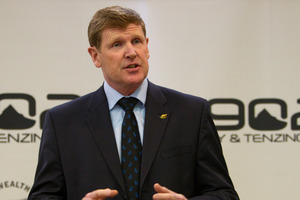New Zealand Olympic Committee President Mike Stanley. Photo / File