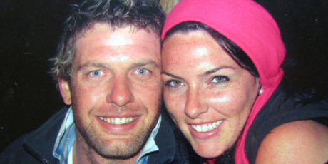 Murdered farmer Scott Guy and his wife Kylee. Photo / NZPA