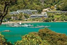 Portage Resort Hotel in the Marlborough Sounds.