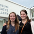 Olivia Wilding and Pien Kerckhoffs, Hastings - seen after the second official opening of MTG Hawke's Bay. Photo / Duncan Brown