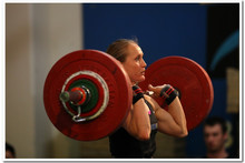 The high-intensity lifting sessions in CrossFit help Andrea Miller recover from injury and piqued her interest in weightlifting.Photo / John Napper/Action in Focus