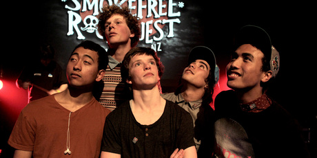 Smokefree Rockquest band All Of A Kind.