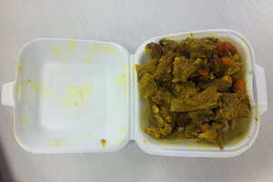 Curry from Ulutoa & Sons Taste of Samoa.Photo / NZ Herald online