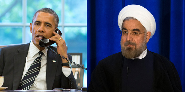 Loading Iranian President Hassan Rouhani and US President Barack Obama. Photo / Getty Images