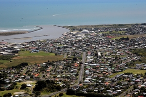 Despite what Chester Borrows says, the sky won't fall on Wanganui any time soon.  PICTURE/FILE