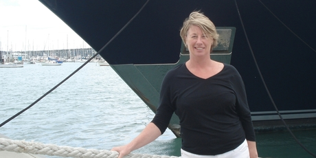 Jeanette Tobin is the founder of Asia Pacific Superyachts, which is servicing mega yacht A.