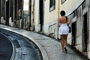 The streets of Lisbon are attracting foreign visitors to the country. Photo / Getty Images