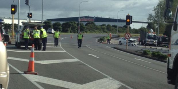 Police said serious crash investigators were at the crash scene. Photo / Chengstaci