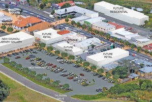 How Katikati will hopefully look after a makeover.