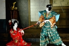 Kabuki theatre, classical Japanese dance-drama, features men-only casts and stylised performances. Picture / Getty Images