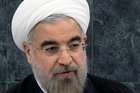 Hasan Rouhani says if there is political will on the other side, Iran is ready to talk. Picture / AP